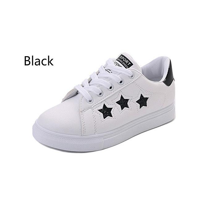 Autre Stylish Korean Breathable Pentagram White Shoes Shoes White à prix pas cher  | Jumia Maroc d6a64d