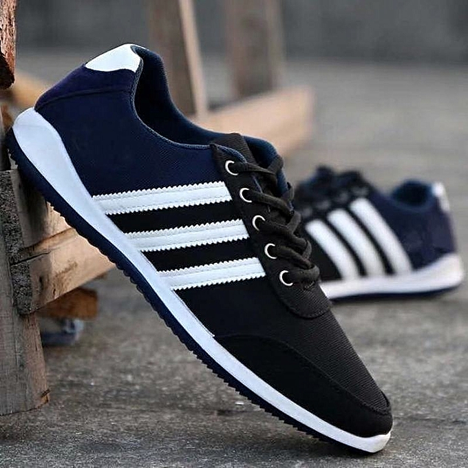 Other Men Summer Canvas chaussures Low Upper Light Breathable Sports chaussures-noir à prix pas cher