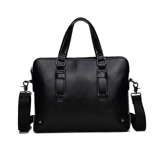 mode Vintage PU cuir Affaires Handsac bandoulière Shoulder sac Briefcase For Hommes à prix pas cher