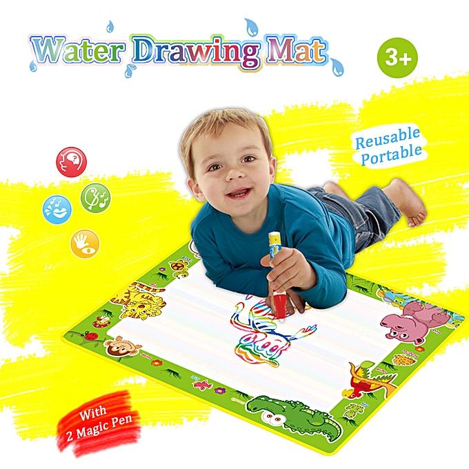 Autre Doodle Water Drawing Mat Painting voyage Board with Magic Pen for Enfants Art Education à prix pas cher