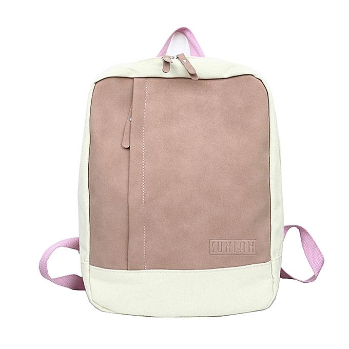 mode femmes Girl Décontracté Mini sac à dos Patchwork voyage sac à dos School sac à prix pas cher