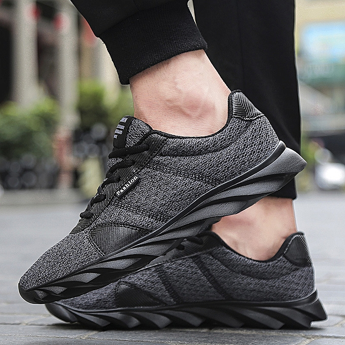 Fashion Outdoor Men's Breathable Running chaussures Casual Athletic Sports Trekking baskets à prix pas cher