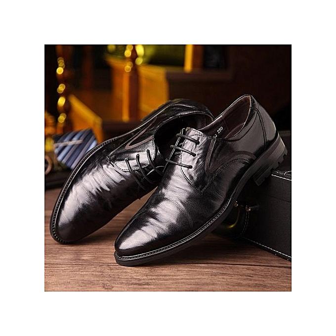 Générique  's Business Casual Leather Shoes à pas prix pas à cher    Jumia Maroc b35020