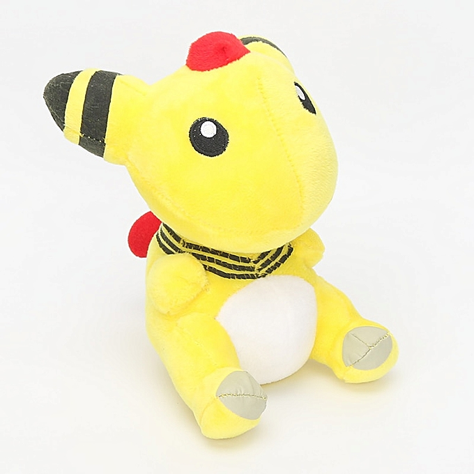 Autre Pocket Plush Charizard Mudkip Mewtwo Luvoitureio Gengar Lapras Ampharos Jigglypuff Squirtle Stuffed Animal Dolls toys(Ampharos 18cm) à prix pas cher