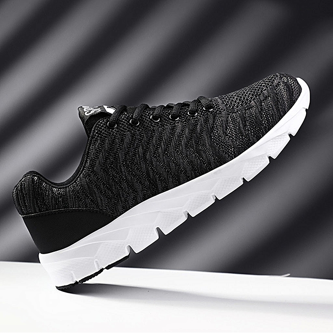 Fashion jiahsyc store Fashion Men baskets Walking Casual chaussures Breathable Lace Up chaussures Running chaussures à prix pas cher
