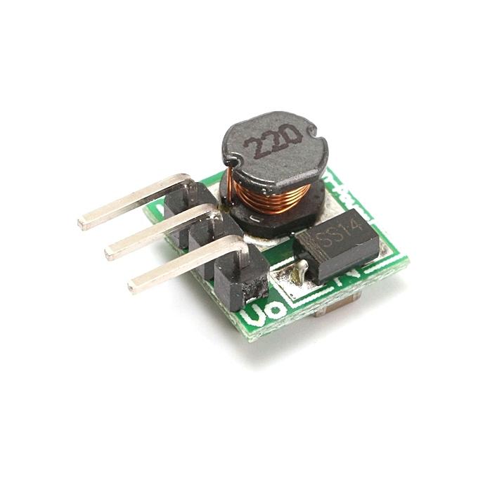UNIVERSAL 10pcs Mini DC-DC 0.8-5V To DC 5V Step Up Boost Power Module Board For Arduino à prix pas cher