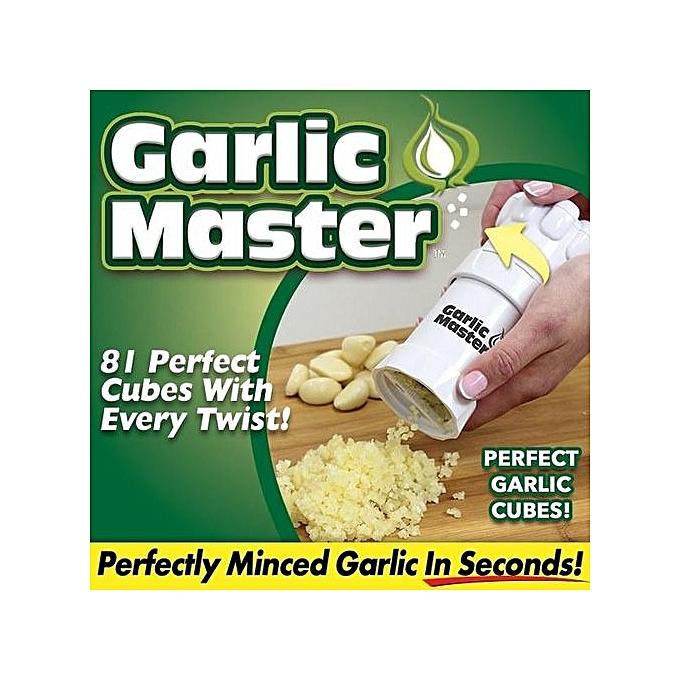 Garlic master mincer et hacher l 39 ail plucheur ail for Achat ustensile cuisine