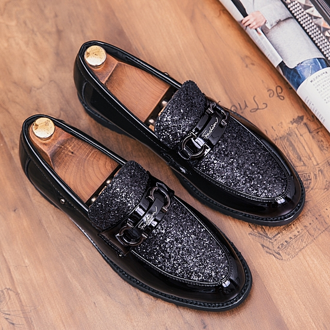 Tauntte Men's Sequined Loafers Trends Casual Moccasins chaussures à prix pas cher    Jumia Maroc