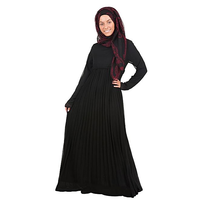 Nissa Robe noir Diamond à prix pas cher