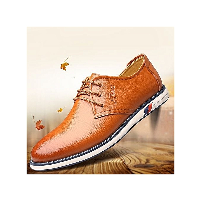 Fashion   Fashion 's Business Casual Leather Shoes à prix pas cher  | Jumia Maroc ebea85