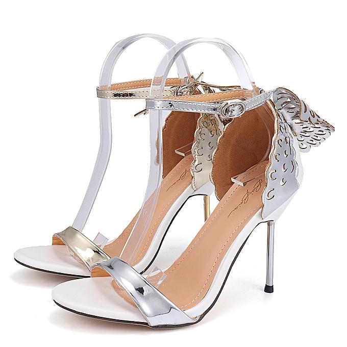 Fashion femmes talons hauts Party Ankle Strap Sandals chaussures à prix pas cher