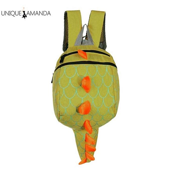 OEM Kids Cute Cartoon Dinosaur Anti Lost Nylon Backpack Waterproof School Bags à prix pas cher