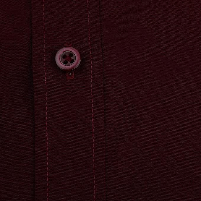 Fashion Men's Solid Couleur Long Sleeve Business Formal Shirts Clothing Blouse WR 44 à prix pas cher