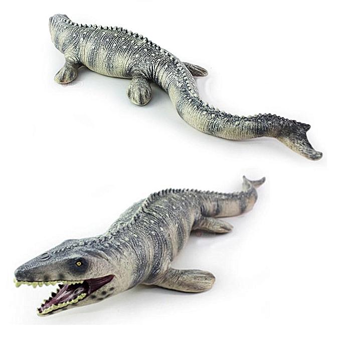 UNIVERSAL 17.72  Lifelike Shape Animal Mosasaurus Dinosaur Model Cretaceous Period Kid Toy à prix pas cher