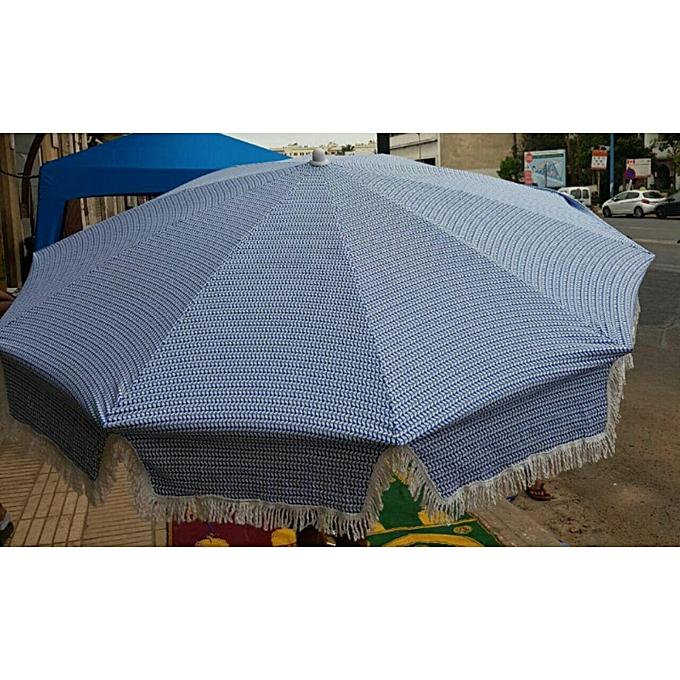 Generic Parasol de Jardin Diamètre 160 cm - Parasol de terrasse  - Prougeection Solaire à prix pas cher