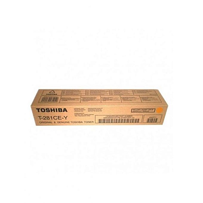Toshiba TONER T-281CE-Y à prix pas cher