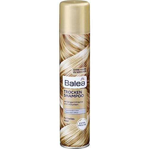 Shampoing sec maison cheveux blonds