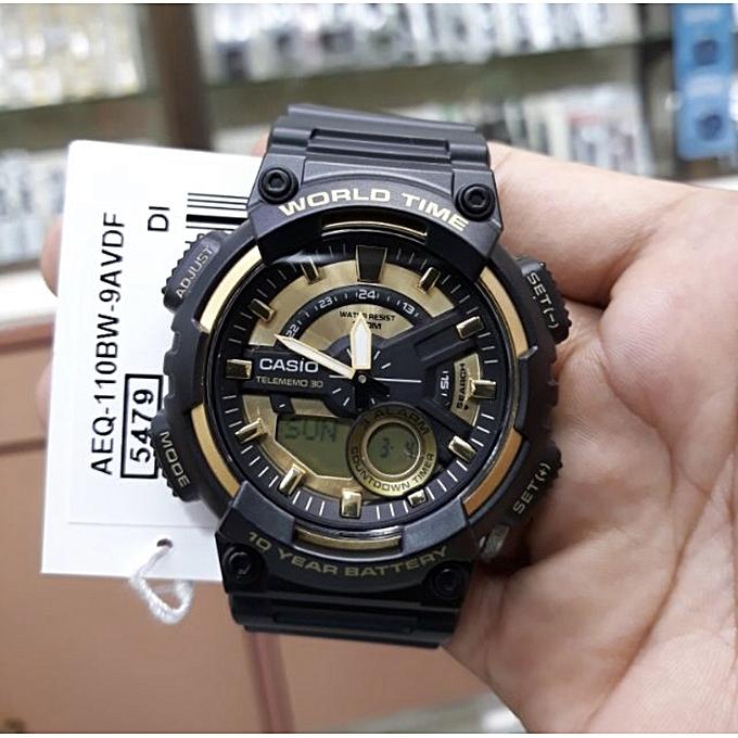 f03f69c8c Casio Montre série fiche 30 monde temps alarme homme à prix pas cher ...