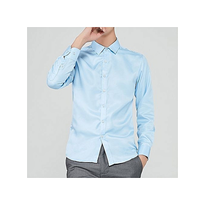Tauntte Chemise à Manches Courtes pour hommes - bleu Ciel à prix pas cher