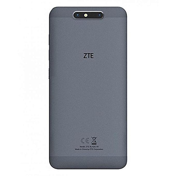 """ZTE Blade V8 - 5.2"""" - 4G/Dual SIM - 32Go - 3Go - Android - Gris"""