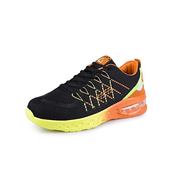 HT  's 's  Air-cushion Sports Shoes Breathable Outdoor Walking Jogging Sneakers à prix pas cher  | Jumia Maroc 82e7f3