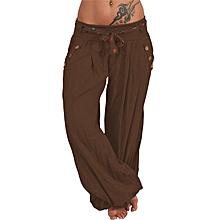 Nouveau Haut Bureau Pantalon Taille Élastique Poches Professionnel Smart Pantalon 8-24