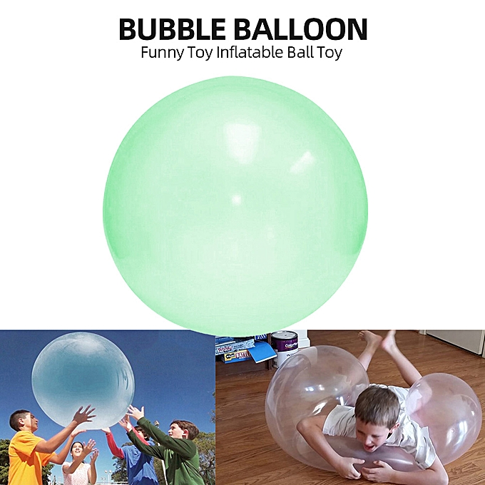 Autre Bubble Balloon Funny Toy Inflatable Ball Toy for Kids Outdoor Play à prix pas cher