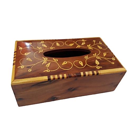 Magnifique boite à mouchoirs, de fabrication artisanale, en loupe de thuya  - Araar decor 8a5e72a6998
