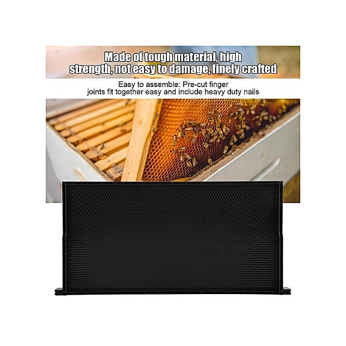 Other Sweetbaby Auto Honey Beehive Frames Beekeeping Kit Pollination Box Bee Hive King Box 48 X 23 Cm à prix pas cher