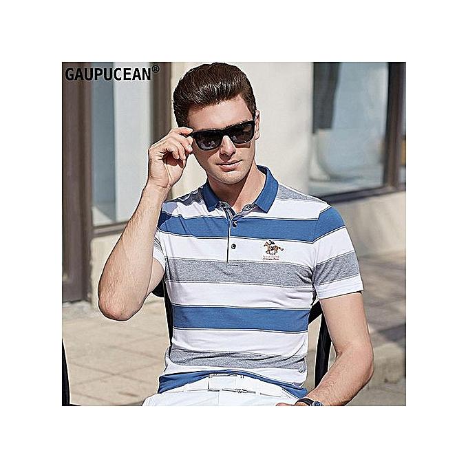 mode Cotton Cool Embroidery Quality Hommes manche courte Polo Shirt à prix pas cher