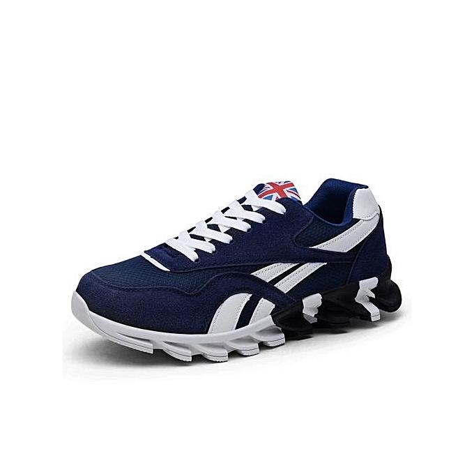 Other Hommes's Comfortable respirant engrener chaussures Knife Sole FonctionneHommest chaussures -bleu à prix pas cher