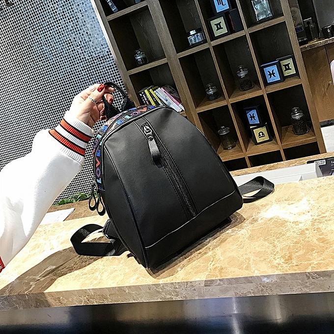 mode Singedan Shop Wohommes mode Letter Print Shoulder sacs sac à dos voyage sac à dos à prix pas cher