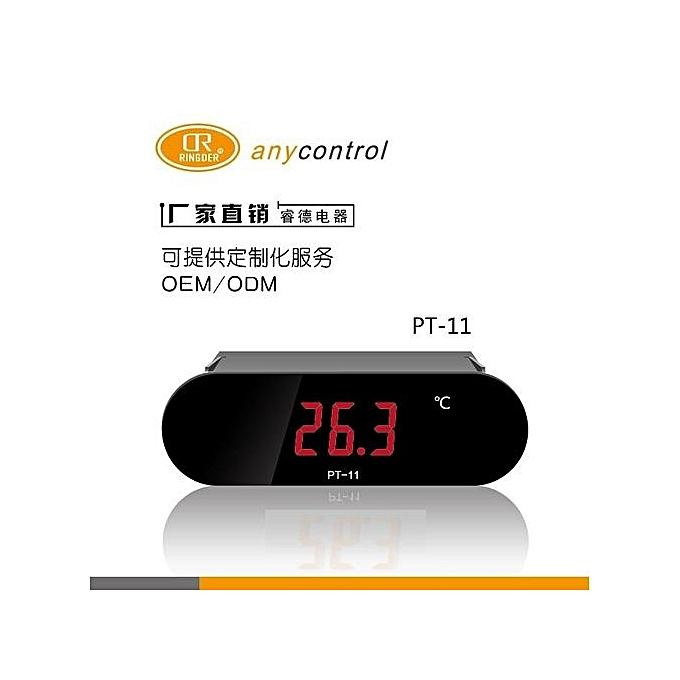 UNIVERSAL PT-11 LCD Digital Thermometer 220V -20300℃ noir à prix pas cher