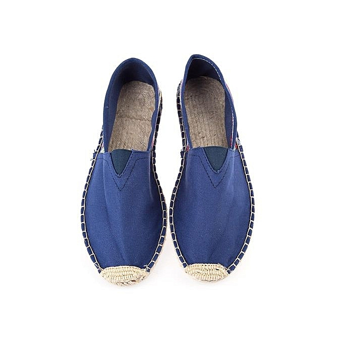 Fashion Casual Spring Spring Spring Autumn Male Canvas Espadrilles Slip-on Shoes à prix pas cher    Jumia Maroc 4f68be