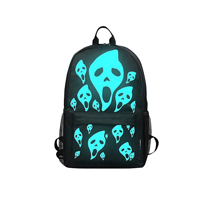 mode Xiuxingzi Unisex lumière Preppy Teenagers Noctilucent voituretoon School sacs Student sac à dos à prix pas cher