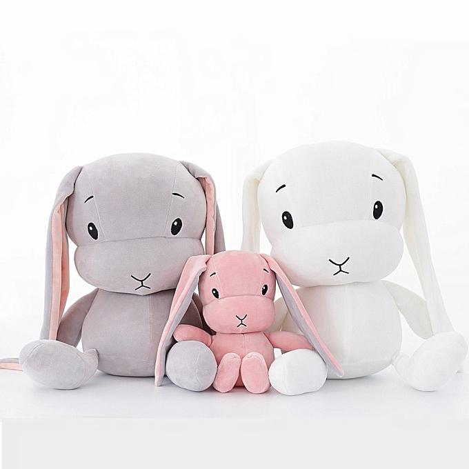 Autre Cute Rabbit Plush Toys 30 50 cm Bunny Stuffed &Plush Animal Baby Toys Doll Baby Accompany Sleep Toy Gifts For kids(blanc) à prix pas cher