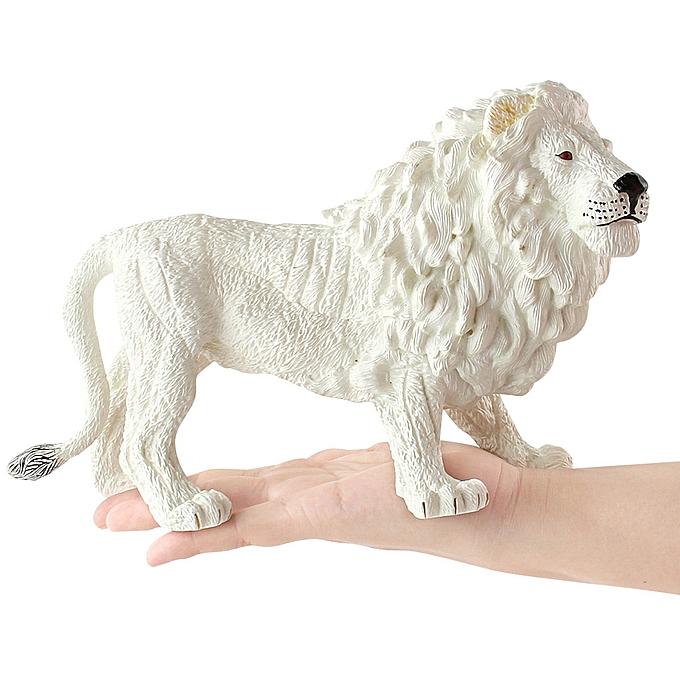 Generic Educational Science Lion Animal Model OrnaHommest Figurine Toy For Enfants Gift WH à prix pas cher
