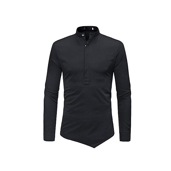 AFankara Mens Clothes Dress Shirts Fashion Business Style Shirts à prix pas cher