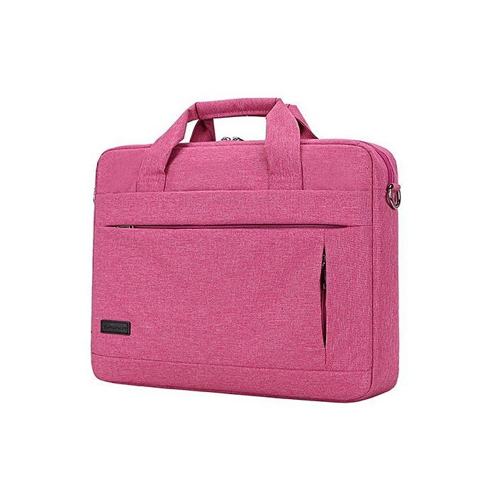 Other Briefcase grand capacité Laptop Handsac Notebook sac For Hommes femmes voyage Bussiness For 14 15.6 Inch Macbook Pro PC Sleeve Case(rose rouge 15inch) à prix pas cher
