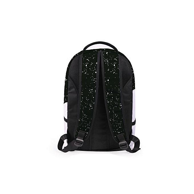 mode Xiuxingzi femmes Hommes 3D Galaxy voyage Satchel sac à dos sac à dos Shoulder Booksac School sac à prix pas cher