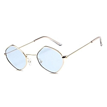 1d7c7f9c261 Fashion Men Woman Polygons Personality Small Box Sunglasses Ocean Simply Style  Sunglasses Glasses - Gold Frame