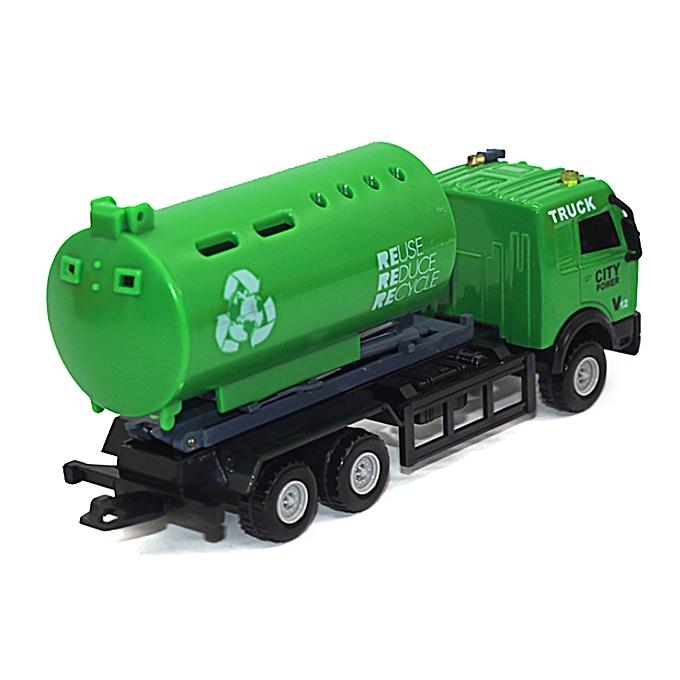 Generic 1 43 Racing Bicycle Shop Truck Toy Car Carrier Vehicle Garbage Truck à prix pas cher