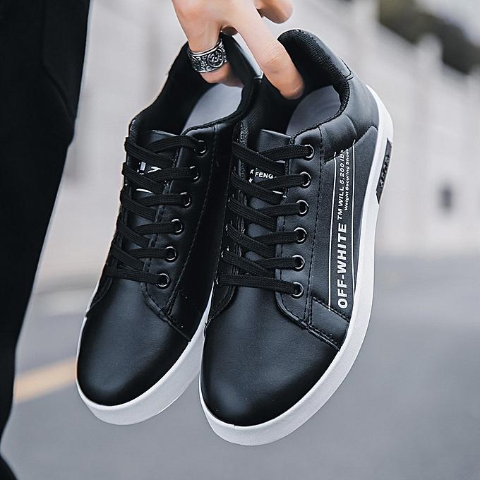 Fashion Men's casual fashion baskets-noir à prix pas cher    Jumia Maroc