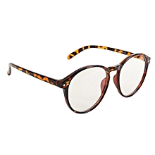 84be73645 Chic Round Eyeglass Frame Vintage Glasses Retro Spectacles Clear Lens  Eyewear—