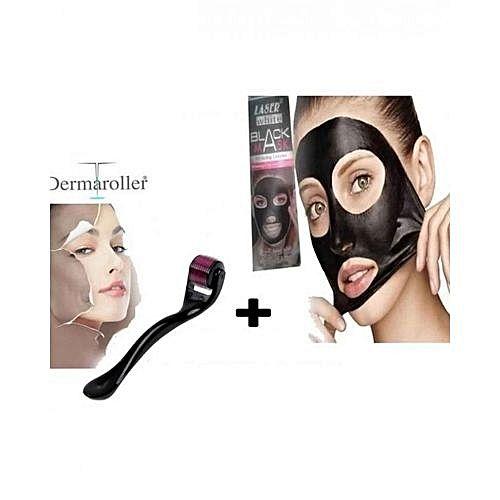 Masques de soins pack dermaroller masque noir retire les points noirs jumia maroc - Dermaroller visage avis ...