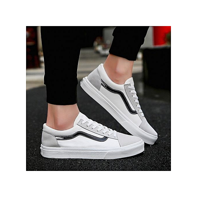 OEM New trend hommes chaussures wild casual canvas chaussures hommes chaussures breathable tide chaussures-blanc à prix pas cher