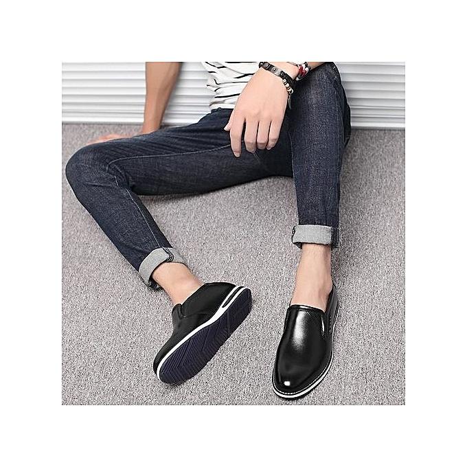 Fashion  's Business  Casual Leather Shoes à prix pas cher  Business | Jumia Maroc cd3dd5