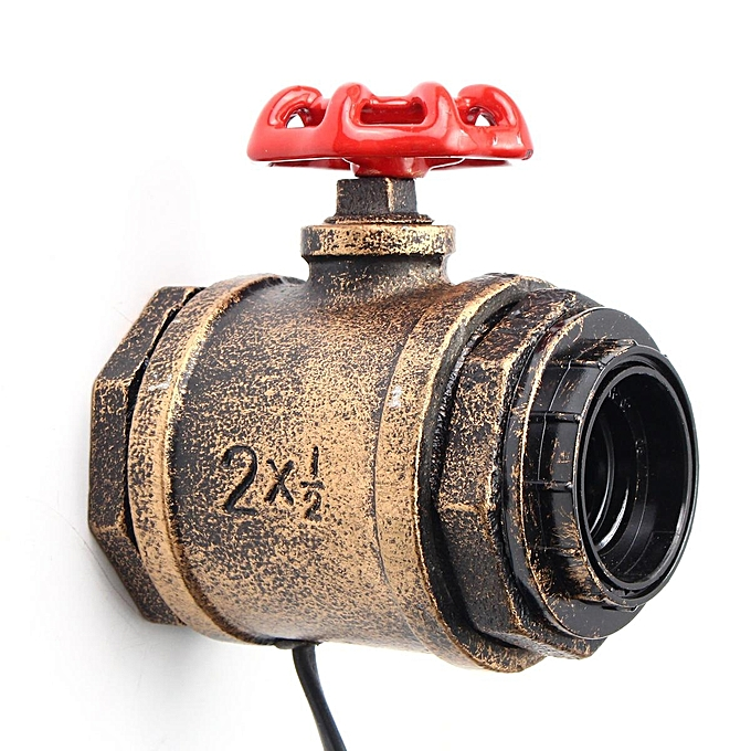 UNIVERSAL E27 Antique Vintage Wall Light Sconce Lamp Bulb Socket Holder Fixture Switch à prix pas cher