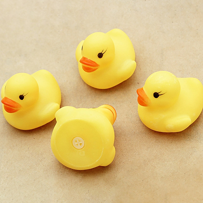 Generic 10PC Squeezing Call Rubber Duck Ducky Duckie Baby Shower Birthday Favors à prix pas cher
