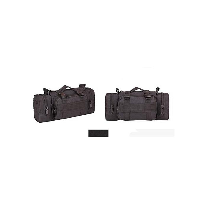 Generic Men's Military Tactical Pockets Shoulder Camping Hiking Camouflage Bag A à prix pas cher